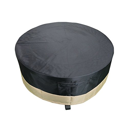 Hiland Fire Pit Hexagon With Slate Table Large Reponim